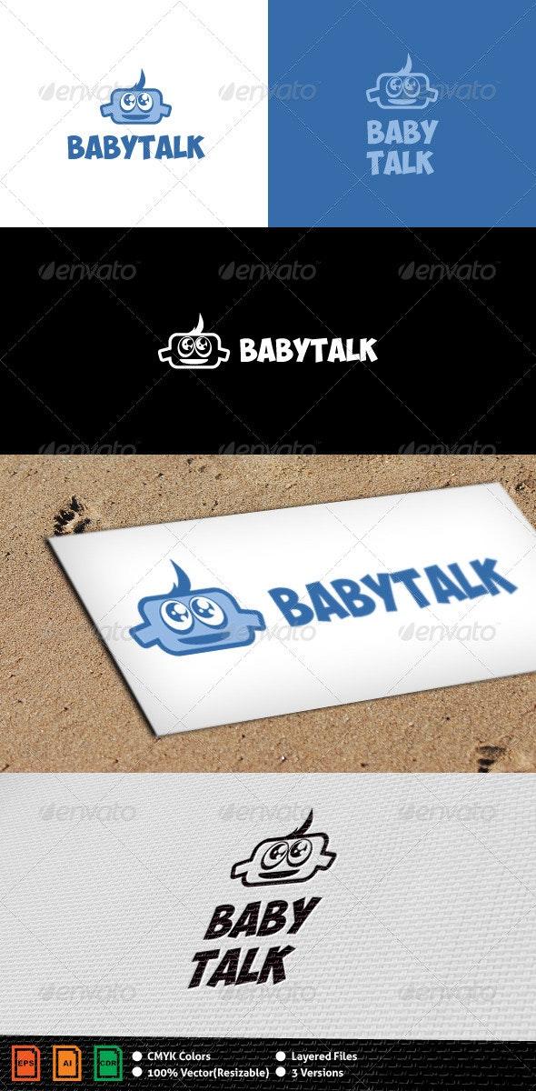 Baby Talk Logo Template - Humans Logo Templates