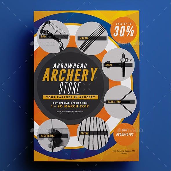 Archery Store Flyer