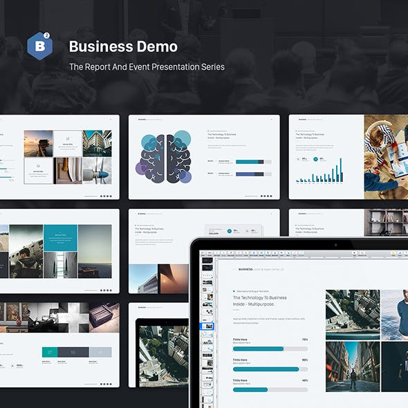 Business Theme (Event & Report Theme Series v2)