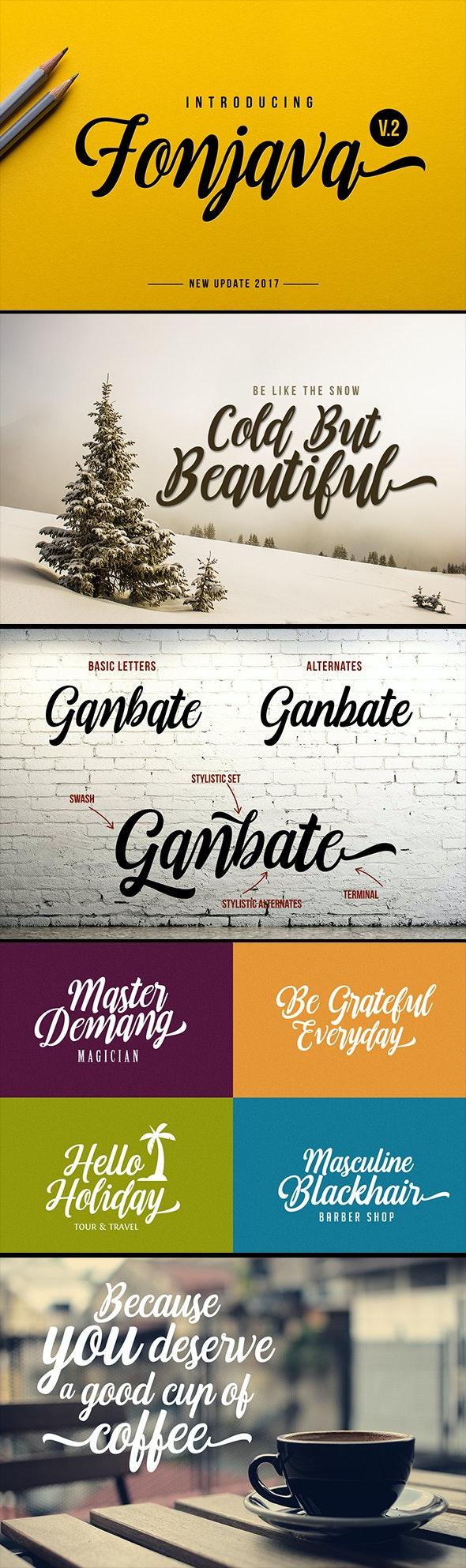 Fonjava - Handwriting Fonts