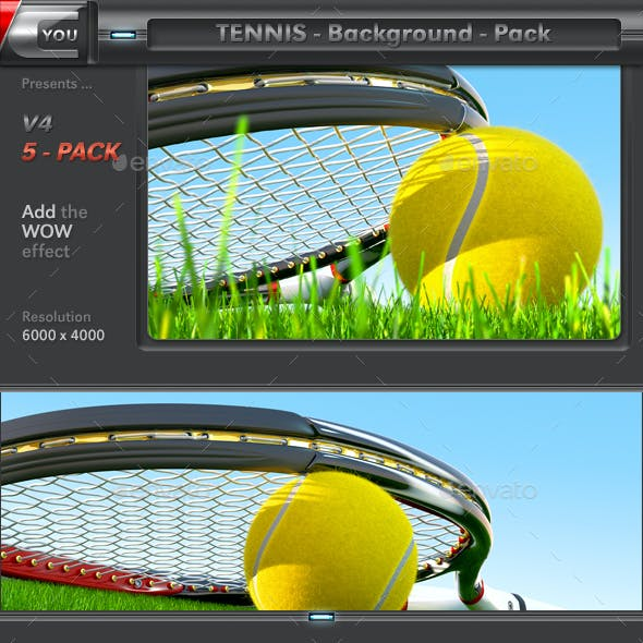 Tennis Background Pack 4