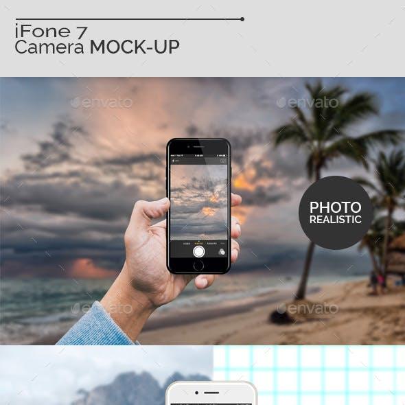 iFone 7 Camera Mock-Ups