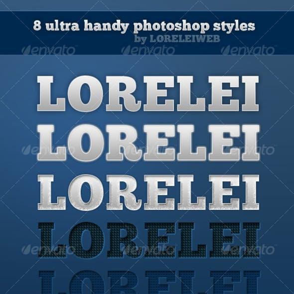 8 Ultra Handy Lorelei Styles