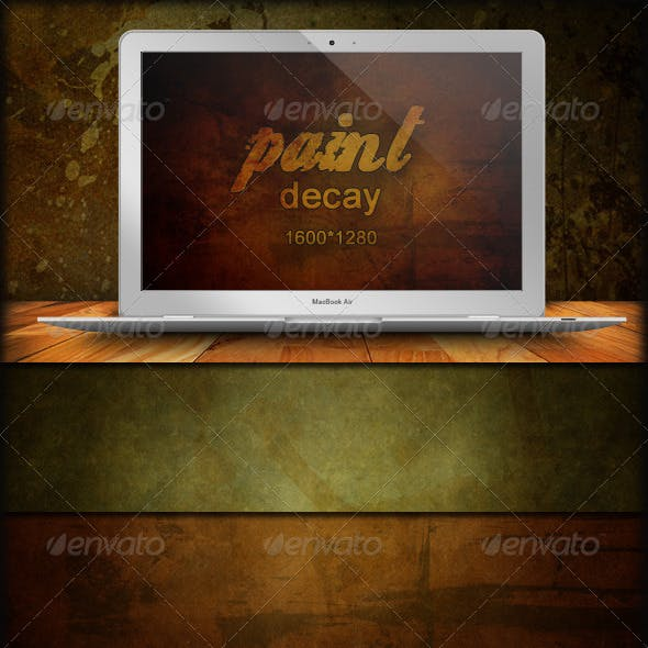 45 Grunge Backgrounds - Paint Decay