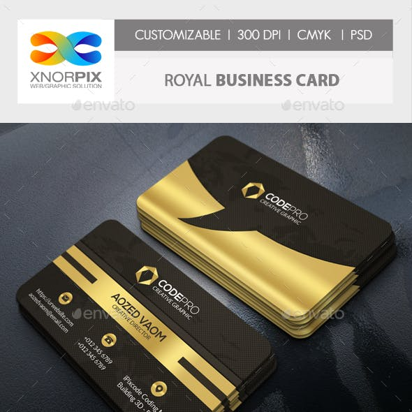 Royal Business Card
