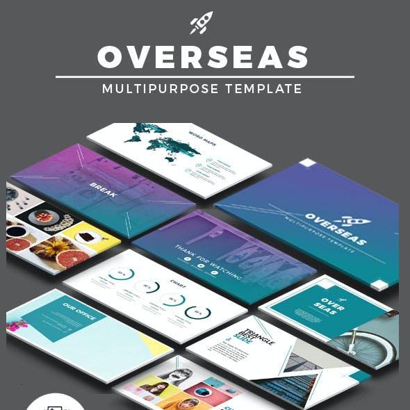 Overseas Multipurpose Powerpoint Presentation Templates