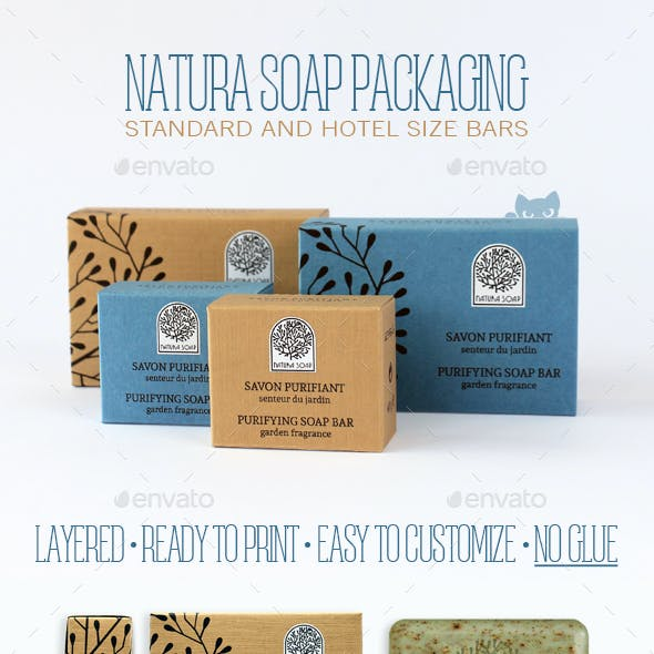 Natura Soap Packaging