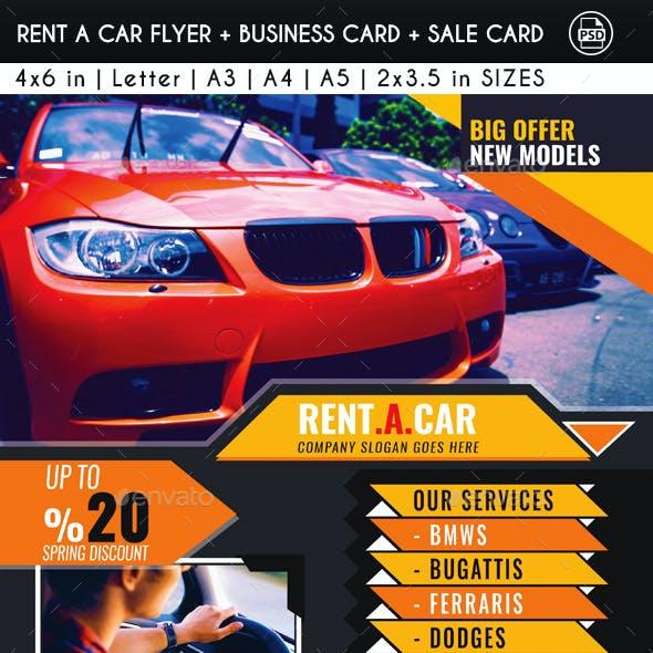 Rent A Car Pack
