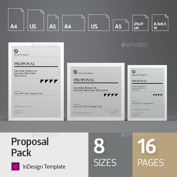 Multisize Proposal Pack