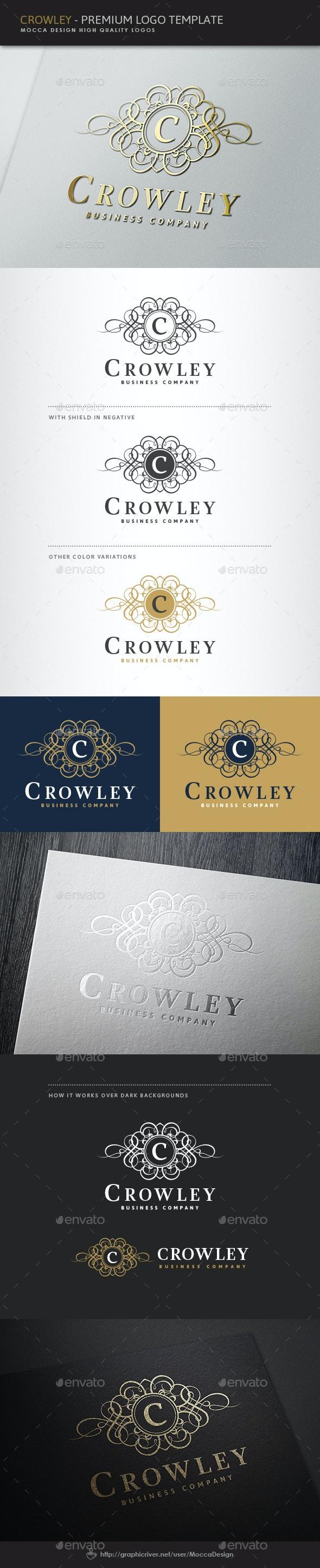 Crowley Logo - Crests Logo Templates