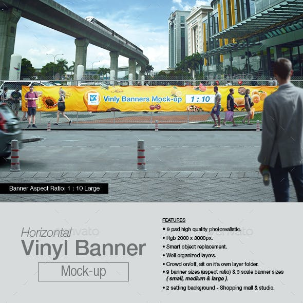 Vinyl Banner Mock-up