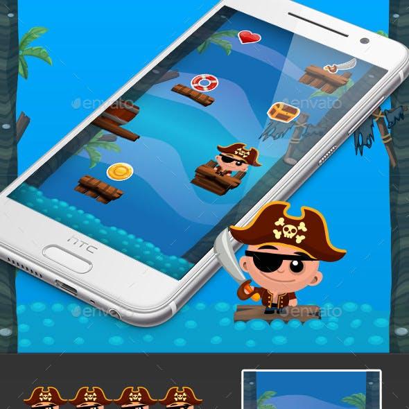 Pirate Jump Game Kit