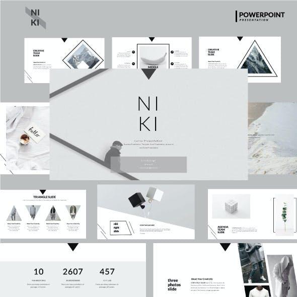 Niki Multipurpose Powerpoint Template