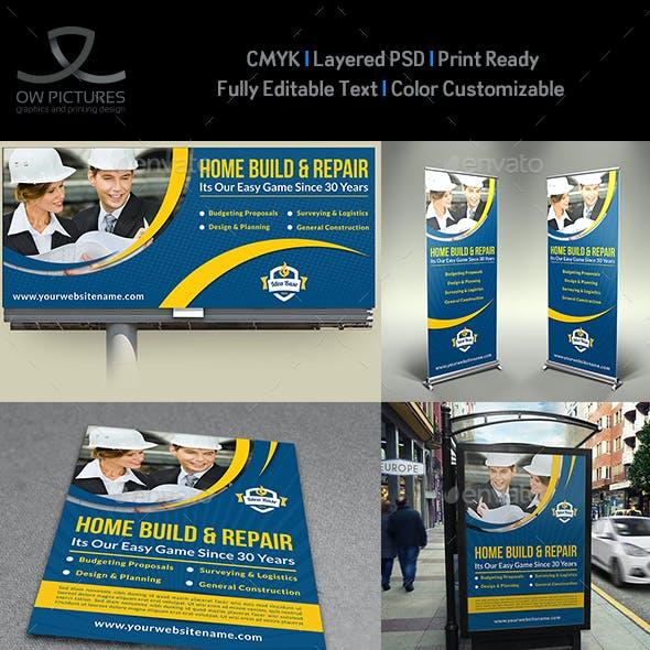 Construction Advertising Bundle Vol.2