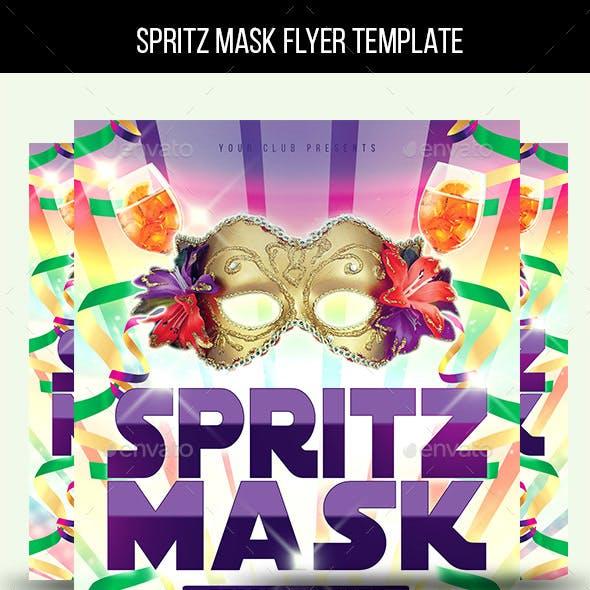 Spritz Mask Flyer Template