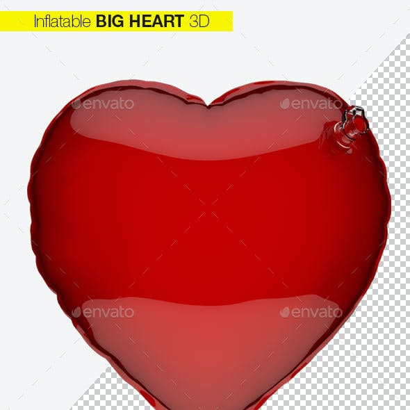 Heart Inflatable Love