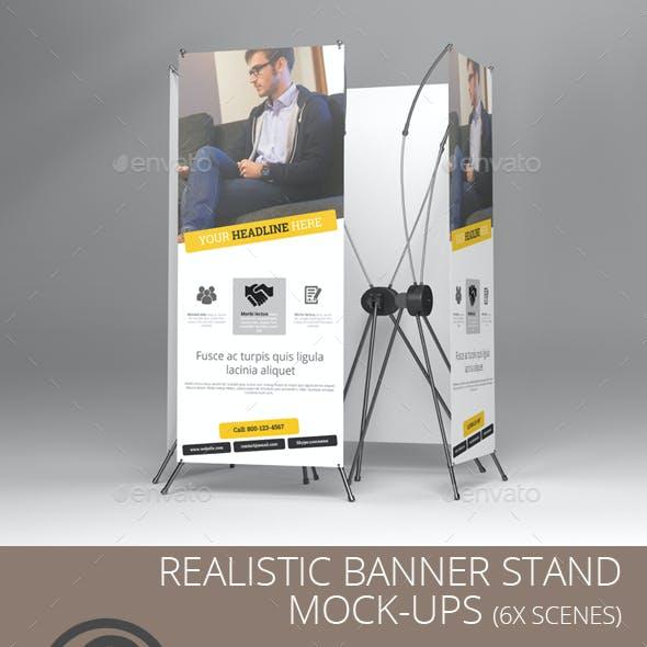 Banner Stand Mock Ups