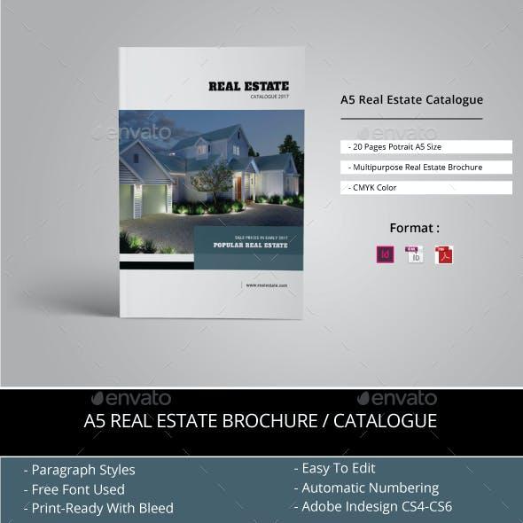 A5 Real Estate Catalogue / Brochure