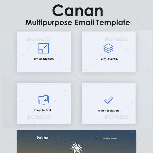 Pakha Multipurpose Email Template