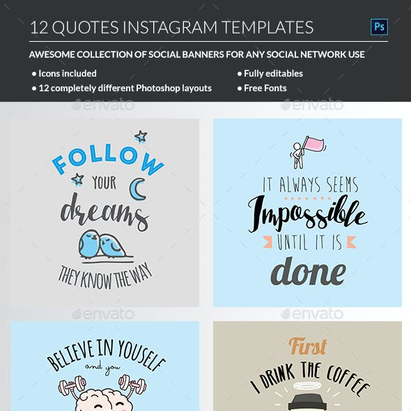 Motivating Quotes Templates
