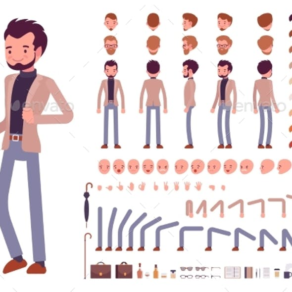 Smart Casual Male Character Creation Set