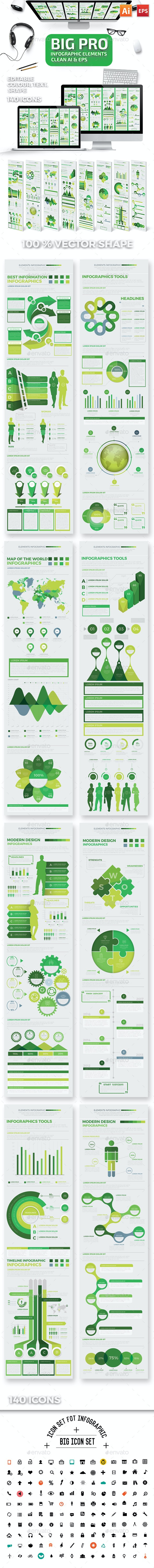 Infographics Elements Template - Infographics