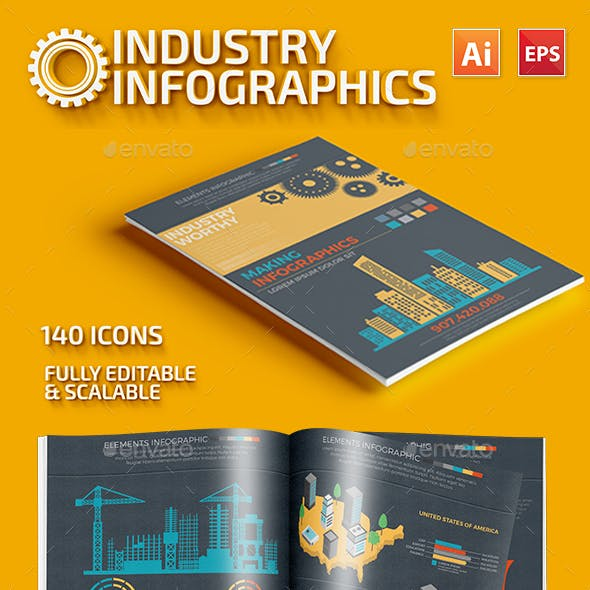 Industry Infographics Template