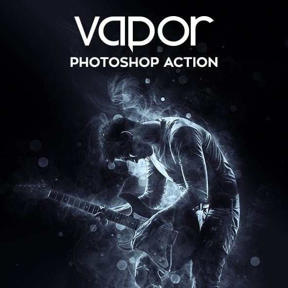 Vapor Photoshop Action