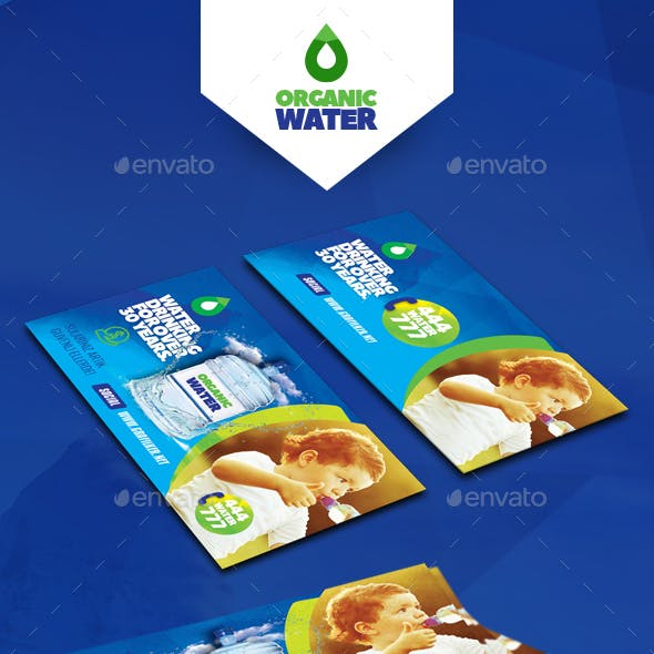 Drinking Water Service Business Card Templates