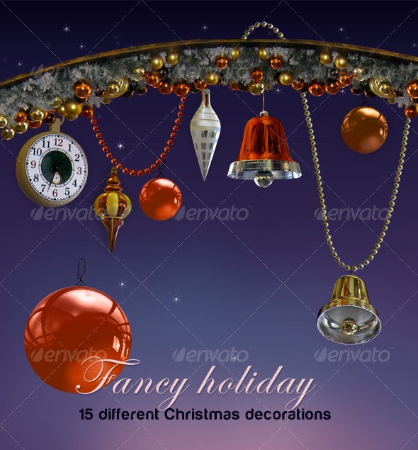 Fancy holiday - Stationery Print Templates