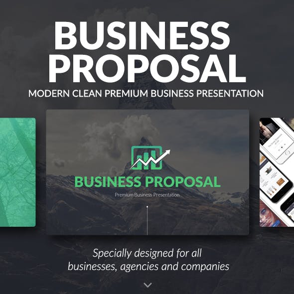 Business Proposal - Premium and Clean Powerpoint Template [UPDATED]