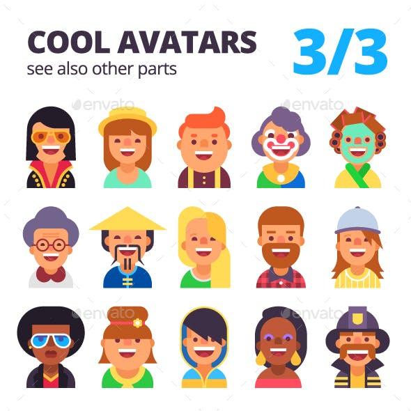 Set of Avatars Part 3/3
