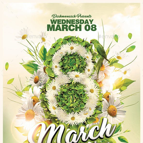 8 March Women Days