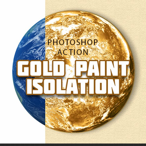 Gold Paint Isolation Action V02