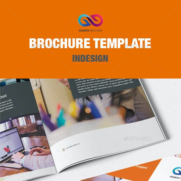 FourthBrother Brochure Template