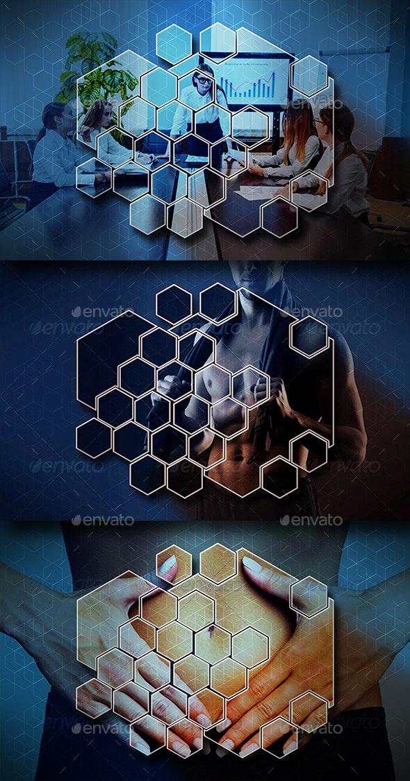 Tech Photo Display Mock Up - Tech / Futuristic Photo Templates