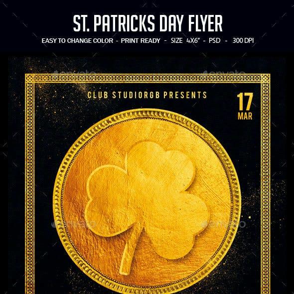 St. Patrick's Day Flyer