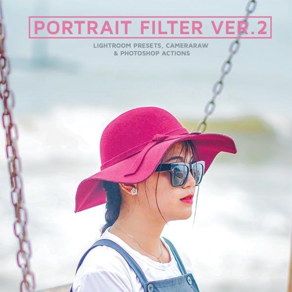 Portrait Lightroom Presets Ver.2