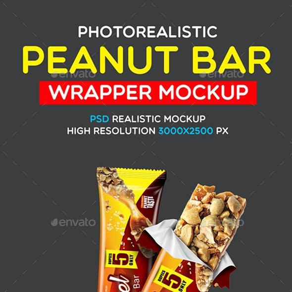 Photorealistic Peanut Bar Mockup