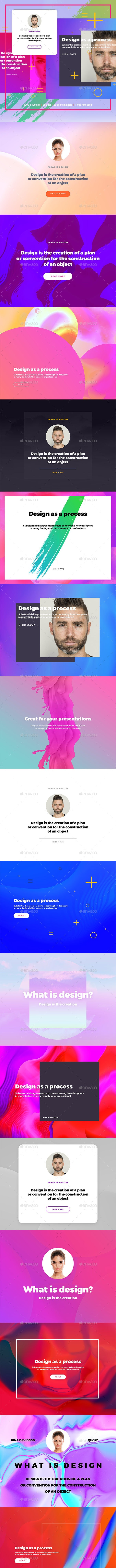 12 Best Random Web Templates  for September 2020