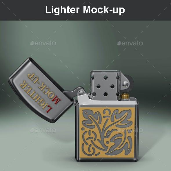 Lighter Mock-up