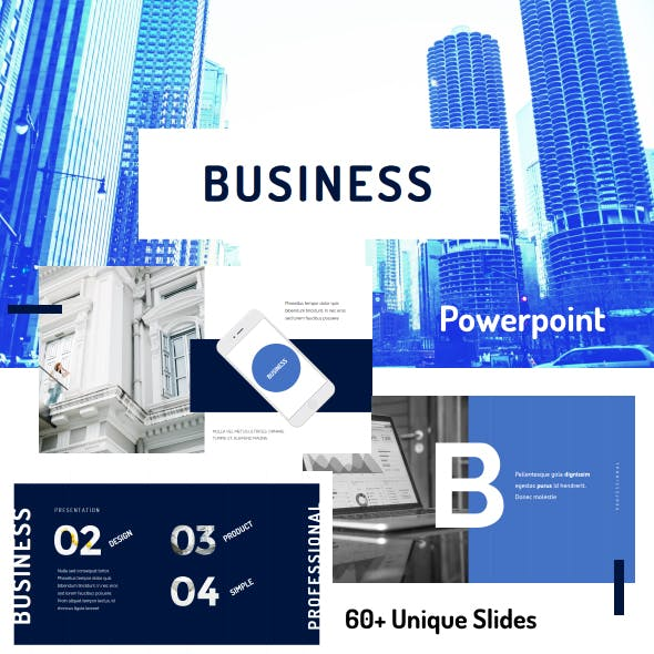 Business PowerPoint Template 02