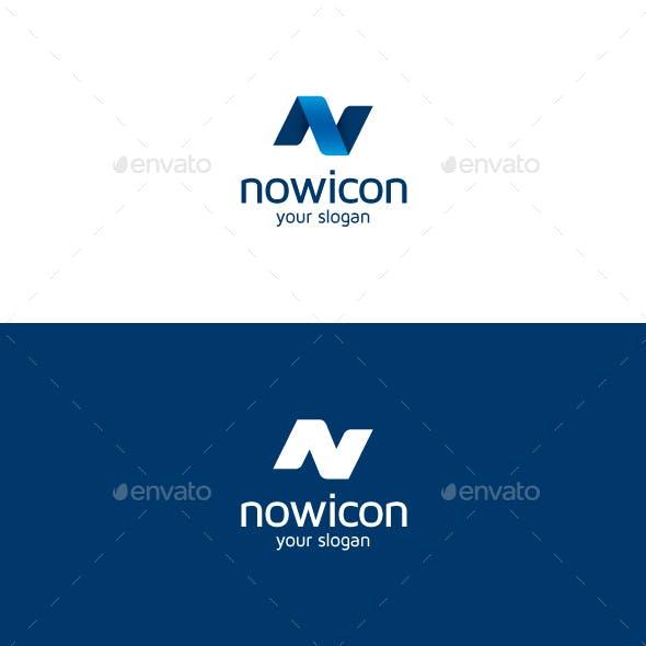 Nowicon N Letter Logo