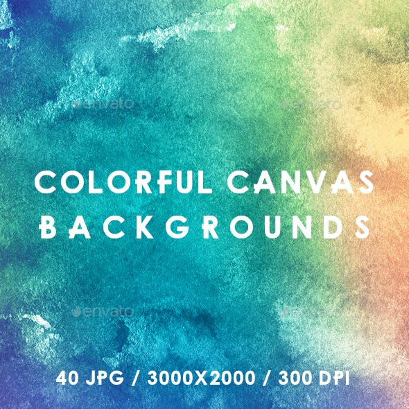 40 Colorful Canvas Backgrounds
