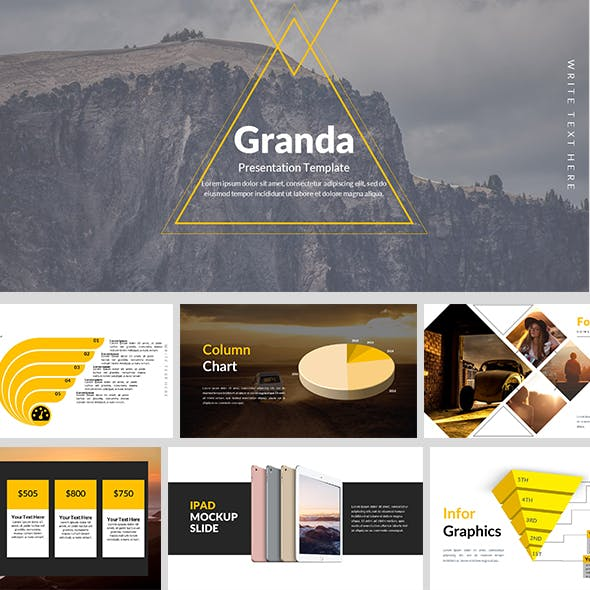 Granda - Creative PowerPoint Template