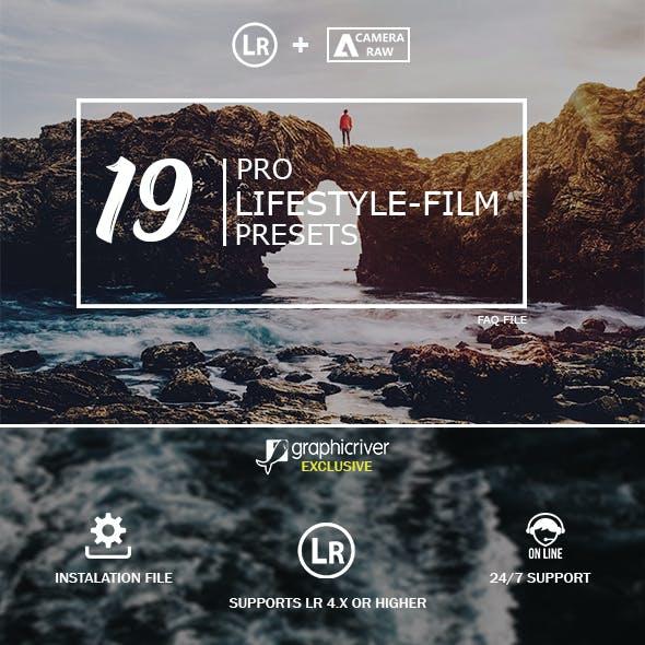 19 Lifestyle Film Lightroom Presets & Camera Raw
