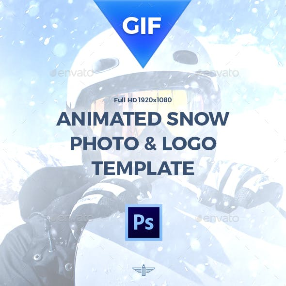 Animated Gif Snow Template