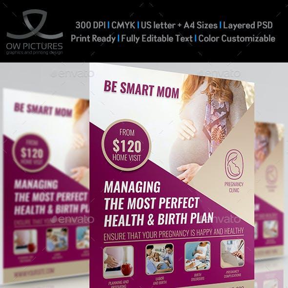 Pregnancy Flyer Template