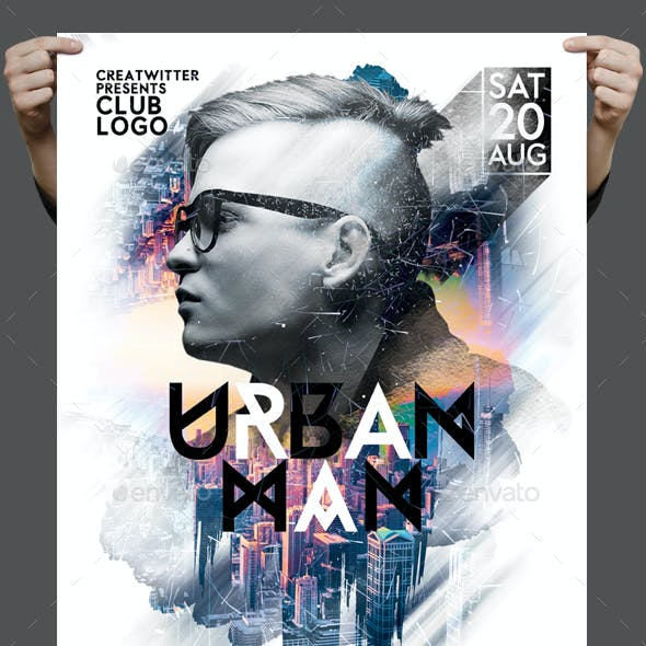 Urban Man Flyer