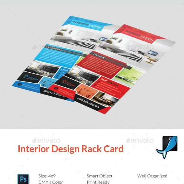 Interior Rack Card DL Flyer